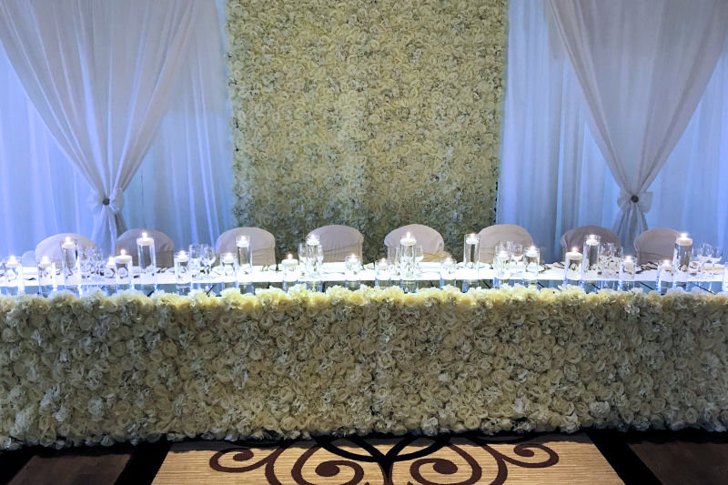 Wedding Flower walls